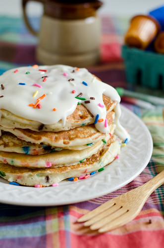 Birthday Cake Pancakes 2