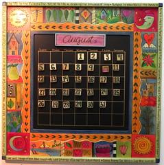 Sticks Calendar at Smith Galleries