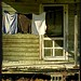 Wash Day at the Old Cabin:  Kelford, Bertie County, North Carolin