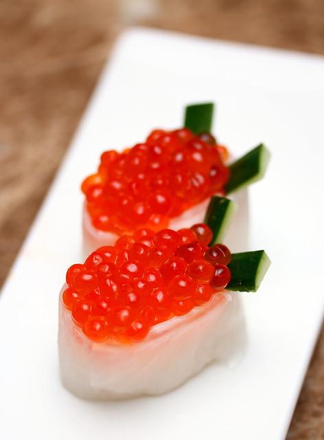 Bay Sushi: Ikura (Salmon Roe)