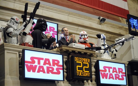 Wall Street e a Cultura Pop star wars darth vader