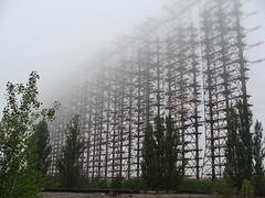 Chernobyl Duga 'Woodpecker' Over-the-Horizon ABM Radar, Command Center
