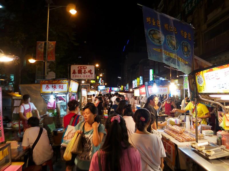 2012 台湾旅行 寧夏路夜市