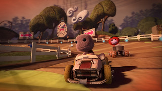 LittleBigPlanet Karting - Course sur circuit