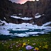 Iceberg Lake Sunset