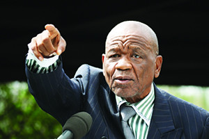 The newly-elected Prime Minister of the Kingdom of Lesotho Tom Motsoahae Thabane. He is scheduled to visit Zimbabwe on August 24, 2012 for a regional event. by Pan-African News Wire File Photos