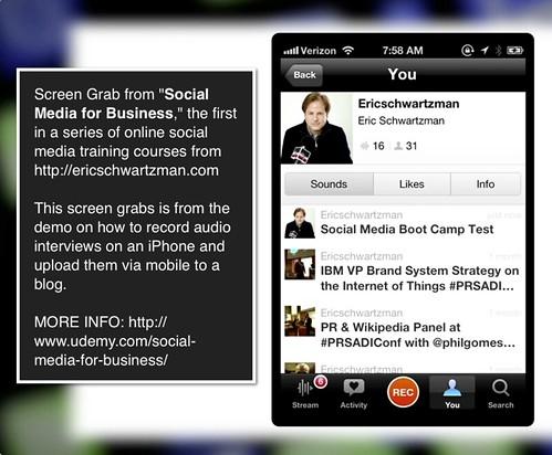 social media training course excerpt