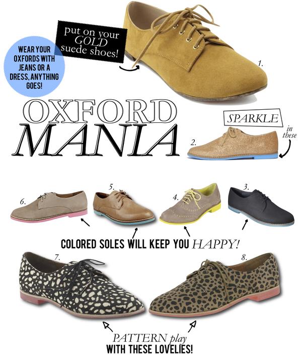 oxford mania