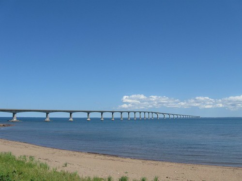 Confederation Bridge to Prince Edward Island