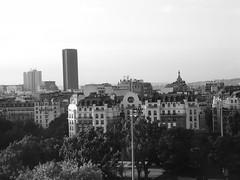 Tour Montparnasse from Porte d'Orléans