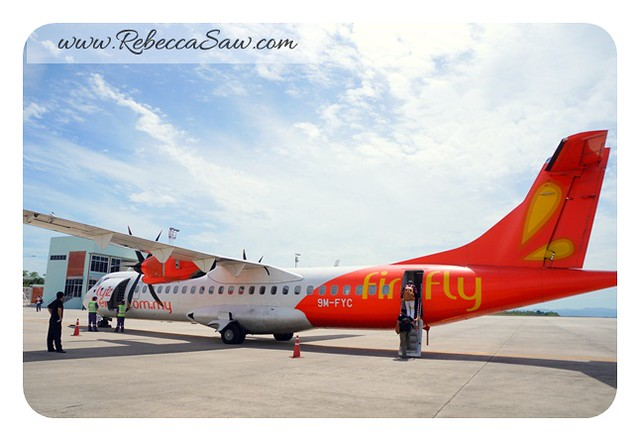 firefly airline - inaugural flight to Hat Yai from subang