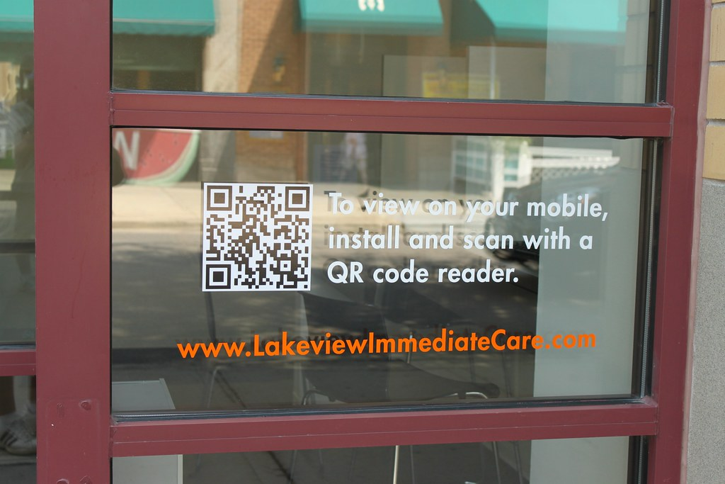 Frosted Glass Vinyl Graphics Privacy Film Impact Signs - Window decals for medical offices