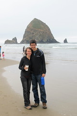At Haystack Rock