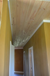 Hallway Pine Ceiling complete