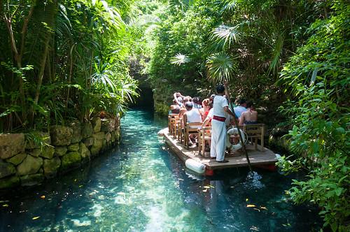 El Río del Paraíso de Xcaret