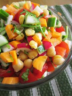 Israeli inspired salad