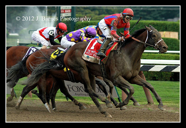 Willy Beamin wins The 28th Running of The Foxwoods King's Bishop Stakes (Grade I).