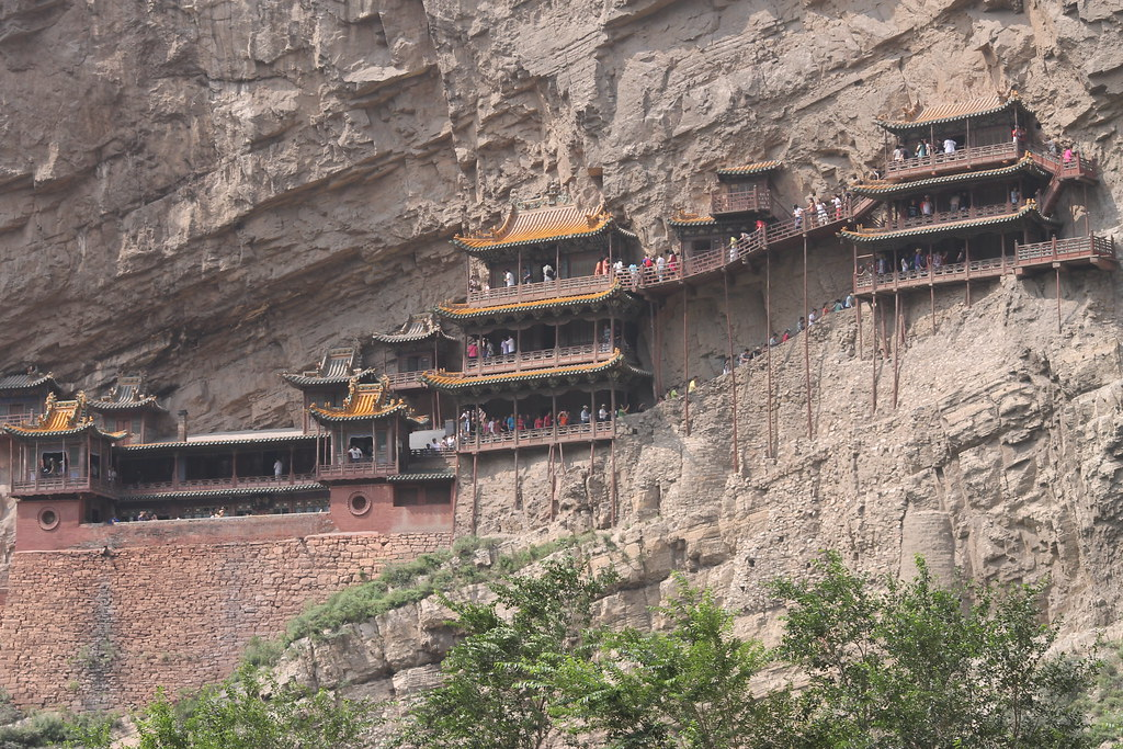 Xuan Kong Si. Hanging Temple Monastery.