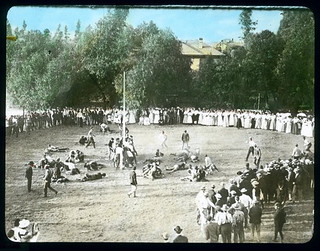 Pole Rush at Pomona College (1907)