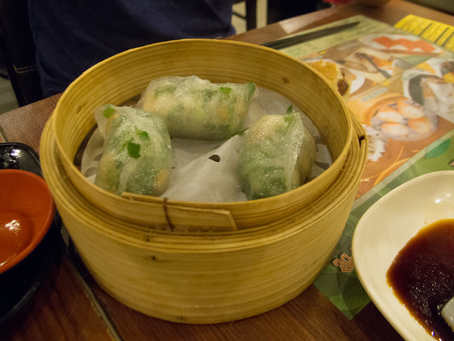 Vegetable Dumplings 菜餃 / Tim Ho Wan, the Dim-Sum Specialists, Sham Shui Po 添好運點心專門店, 深水埗 / SML.20120820.G12.00093