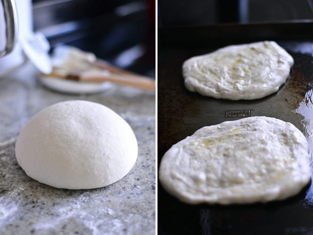 making-flatbread