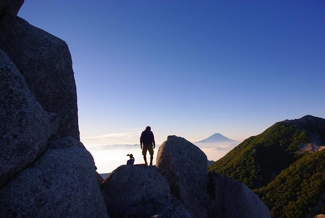 オベリスク横からの風景