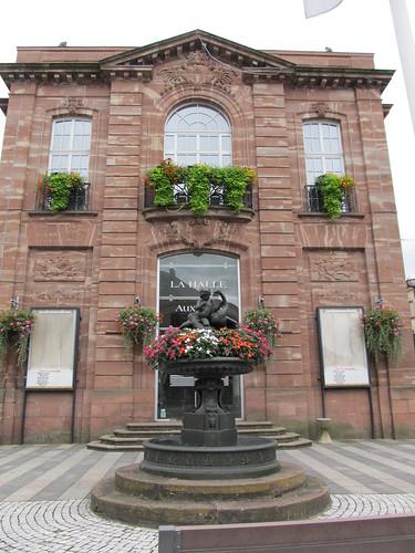 fontaine et monument raon l'etape 054