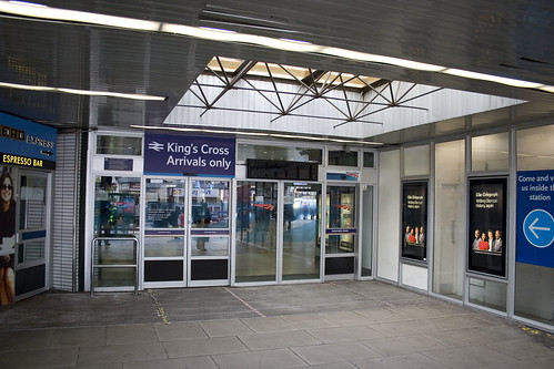 Entrance to Kings Cross