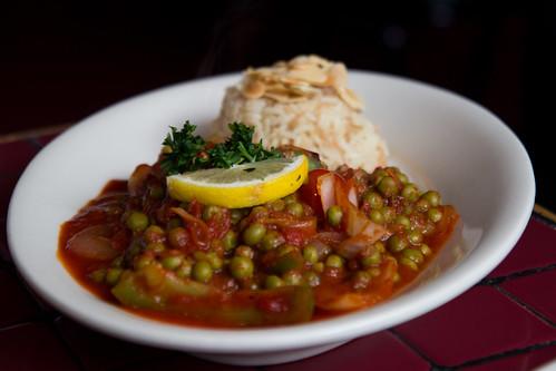 Vegetarian Bazila at Tyma'z