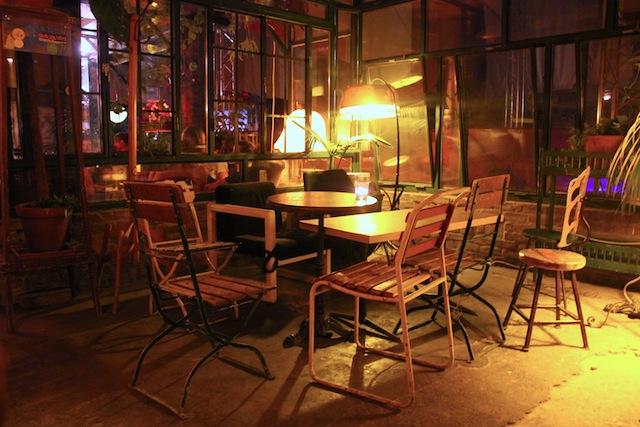 Szimpla Kert chairs