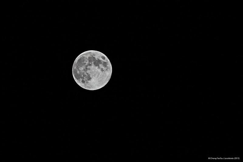 [astronomy] 2012.8.31 blue moon