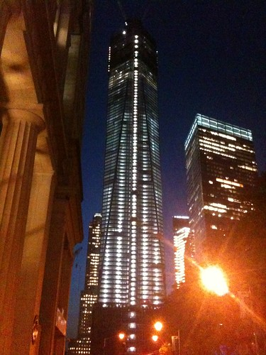 The Freedom Tower (WTC) at night