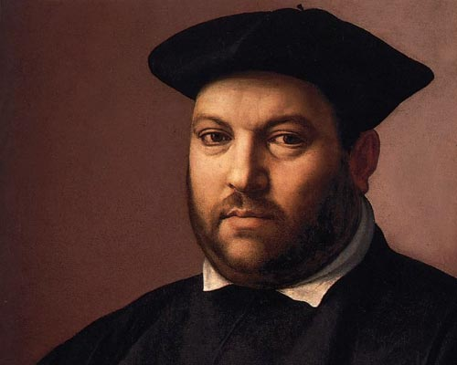 "Renaissance Painting - ""Portrait of a Gentleman"" by Ridolfo Ghirlandaio"
