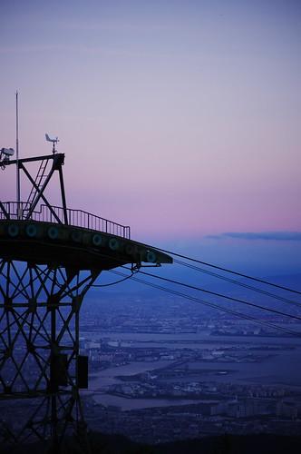 Twilight ropeway
