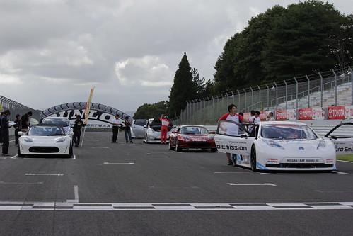 全日本電気自動車グランプリシリーズ 第3戦 『全日本SUGOEV50Kmレース大会』スターティンググリッド