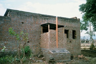 07__4A UDDT attached and fully accessible from inside the house, swTws, Kisoro 2000