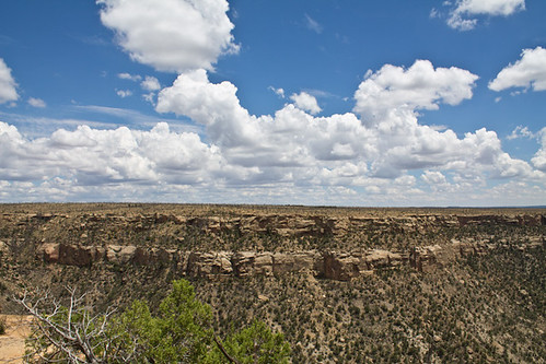The sky at Mesa Verde NP