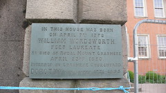 Photo of William Wordsworth slate plaque