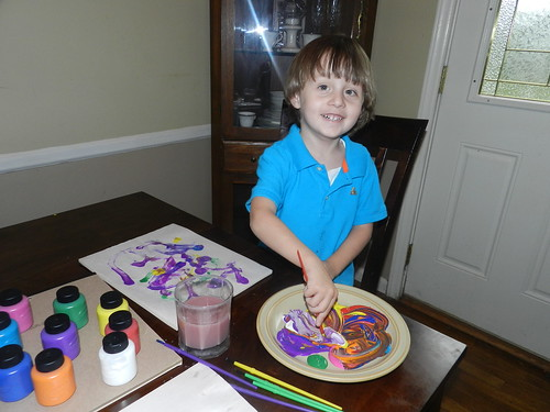 Henry and Mama Painting