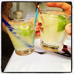 Caipirinhas sem alcool, com a linda @carolateca