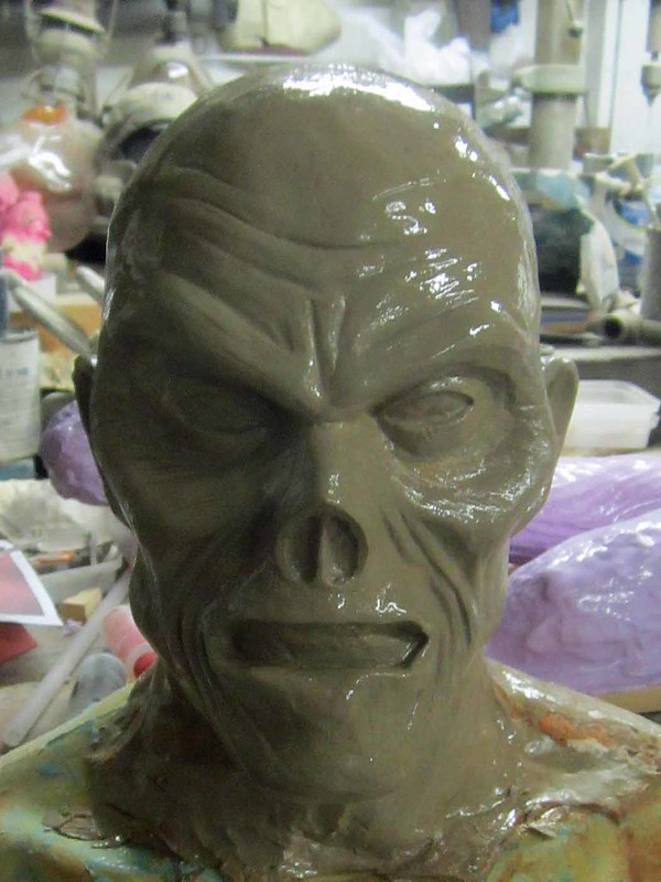 Severed Head Sculpt Finished