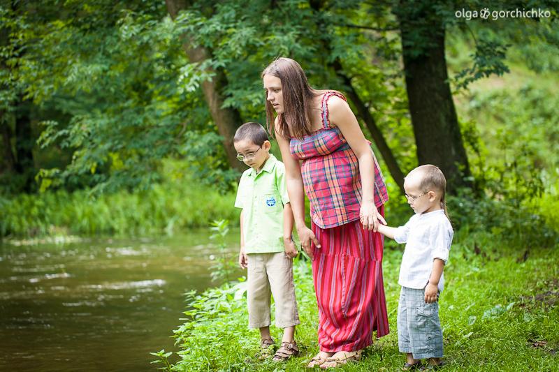 Фотосессия беременности Тани