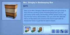 Mrs. Stingley's Beekeeping Box