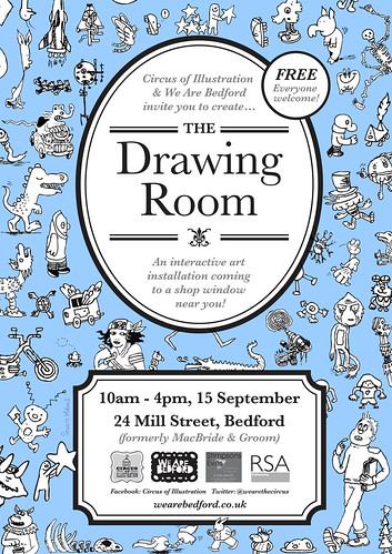 the-drawing-room-poster6 by Doodle Howls