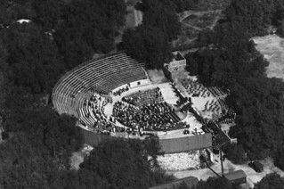 Aerial view of the Greek Theatre