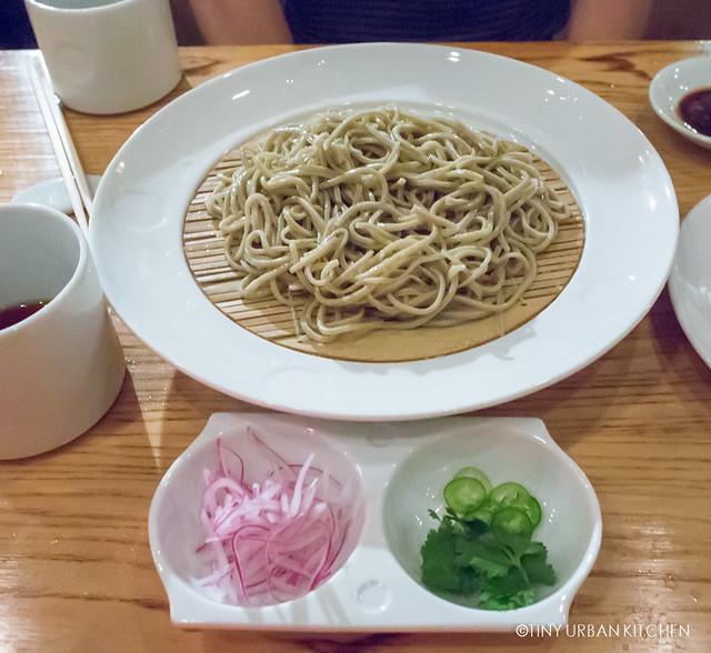 Fresh handmade Soba Noodles