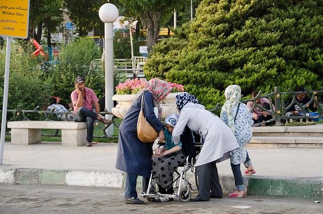 Wheelchair Unfriendly Minibus Stop