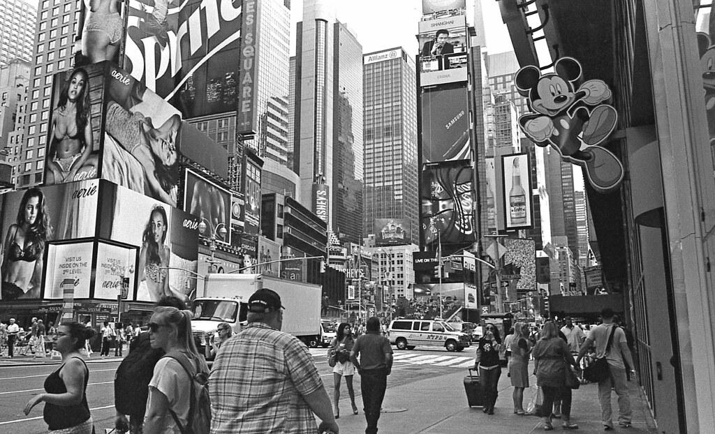 Times Square Magic