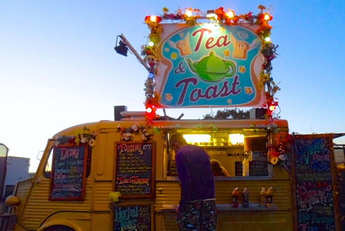 Tea & Toast Van