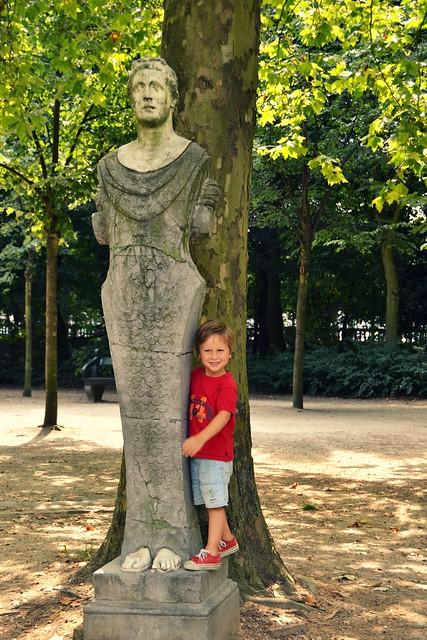 Milo + estatua